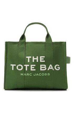 Женский сумка-тоут the traveller small MARC JACOBS (THE) зеленого цвета, арт. M0016161 | Фото 1