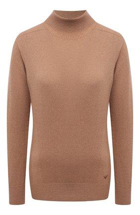 Женский кашемировый пуловер EMPORIO ARMANI бежевого цвета, арт. 8N2MW2/2MA1Z   Фото 1