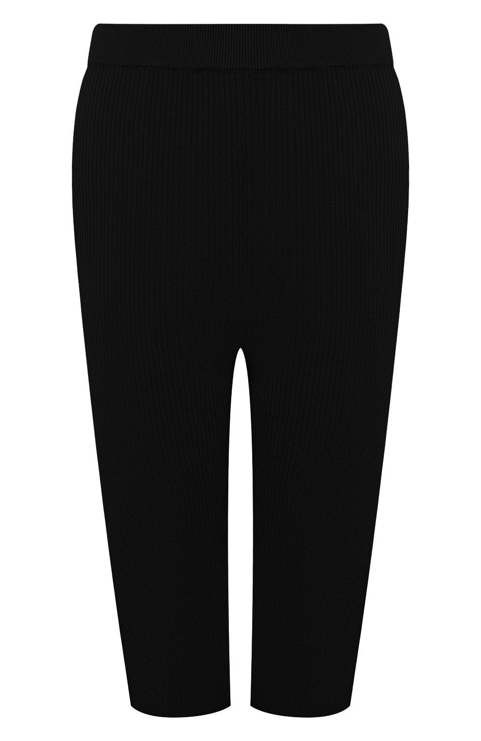 Женские шорты из вискозы SAINT LAURENT черного цвета, арт. 657443/Y75BE | Фото 1