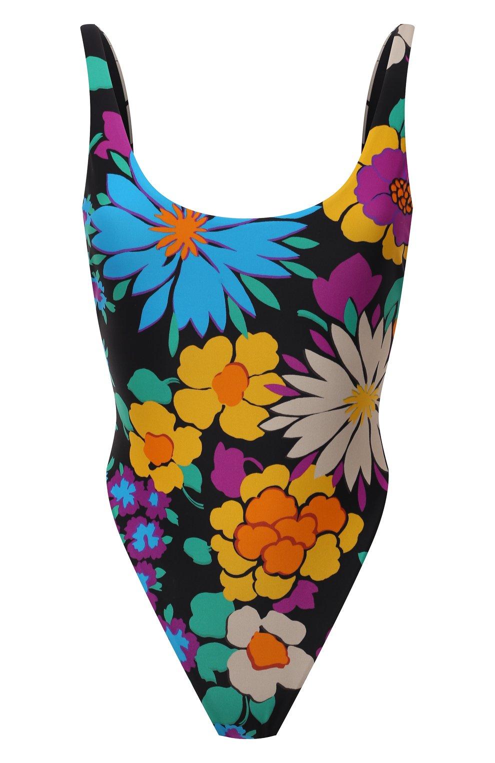 Женский слитный купальник SAINT LAURENT разноцветного цвета, арт. 657944/Y36EZ | Фото 1