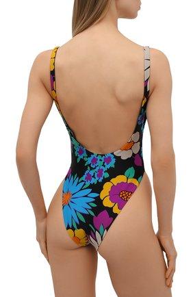 Женский слитный купальник SAINT LAURENT разноцветного цвета, арт. 657944/Y36EZ | Фото 3