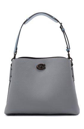 Женская сумка willow COACH серого цвета, арт. C2267   Фото 1