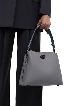 Женская сумка willow COACH серого цвета, арт. C2267   Фото 2