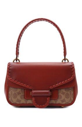 Женская сумка cody COACH коричневого цвета, арт. C2583   Фото 1