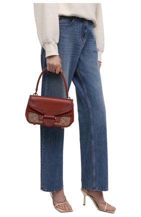 Женская сумка cody COACH коричневого цвета, арт. C2583   Фото 2
