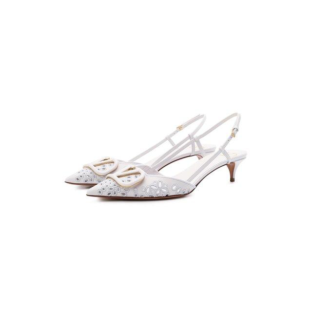 Кожаные туфли VLogo Signature Valentino