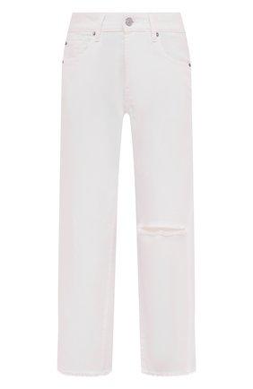 Женские джинсы 7 FOR ALL MANKIND белого цвета, арт. JSANV690SD | Фото 1