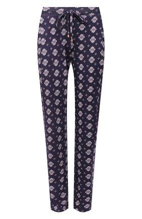 Женские брюки HANRO фиолетового цвета, арт. 077882 | Фото 1