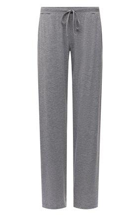 Женские брюки из вискозы HANRO серого цвета, арт. 076239 | Фото 1