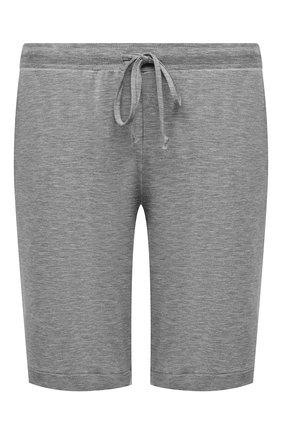 Женские шорты из вискозы HANRO серого цвета, арт. 076238 | Фото 1