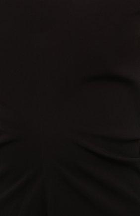Женское платье LOW CLASSIC черного цвета, арт. L0W21SS_DR04BK   Фото 5 (Рукава: Короткие; Случай: Повседневный; Материал внешний: Синтетический материал; Длина Ж (юбки, платья, шорты): Миди; Женское Кросс-КТ: Платье-одежда; Стили: Кэжуэл)