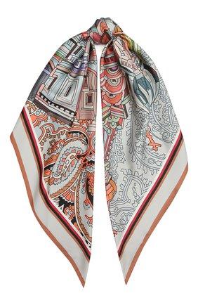 Женский шелковый платок st. basil's cathedral RADICAL CHIC разноцветного цвета, арт. 242231.21.09   Фото 1