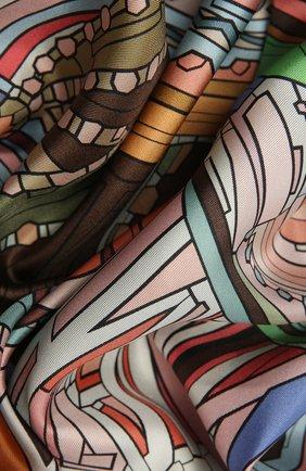 Женский шелковый платок st. basil's cathedral RADICAL CHIC разноцветного цвета, арт. 242231.21.09   Фото 2