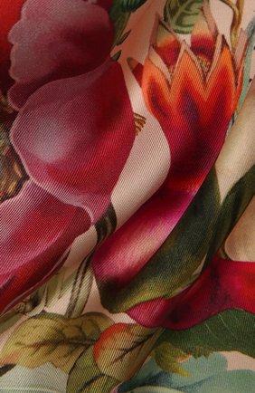 Женский шелковый платок botany RADICAL CHIC розового цвета, арт. 362021.07.02   Фото 2