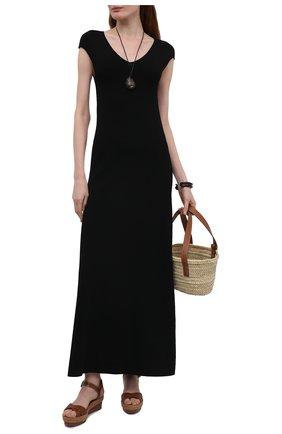 Женские кожаные босоножки almerio 60 CHRISTIAN LOUBOUTIN коричневого цвета, арт. 3210229/ALMERI0 60 | Фото 2