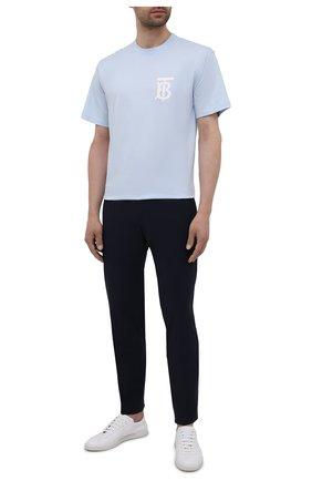 Мужские брюки BOSS темно-синего цвета, арт. 50453780 | Фото 2