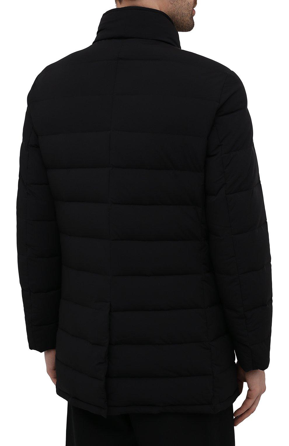 Мужская пуховик calegari-kn MOORER черного цвета, арт. CALEGARI-KN/M0UGI100139-TEPA009   Фото 4 (Кросс-КТ: Куртка; Мужское Кросс-КТ: пуховик-короткий; Рукава: Длинные; Длина (верхняя одежда): До середины бедра; Материал внешний: Синтетический материал; Материал подклада: Синтетический материал; Материал утеплителя: Пух и перо; Стили: Кэжуэл)
