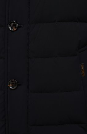 Мужская пуховик calegari-kn MOORER темно-синего цвета, арт. CALEGARI-KN/M0UGI100139-TEPA009   Фото 5 (Кросс-КТ: Куртка; Мужское Кросс-КТ: пуховик-короткий; Рукава: Длинные; Длина (верхняя одежда): До середины бедра; Материал внешний: Синтетический материал; Материал подклада: Синтетический материал; Материал утеплителя: Пух и перо; Стили: Кэжуэл)