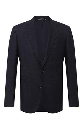 Мужской шерстяной пиджак CANALI темно-синего цвета, арт. 11288/CU02736/112 | Фото 1