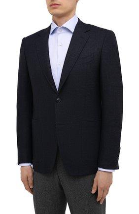 Мужской шерстяной пиджак CANALI темно-синего цвета, арт. 11288/CU02736/112 | Фото 3