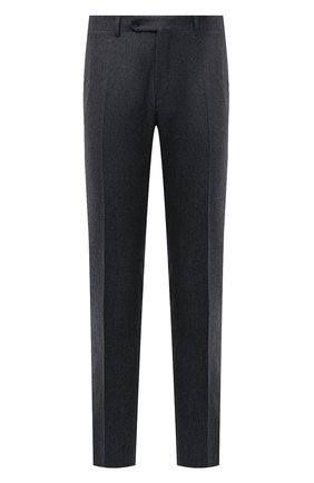 Мужские шерстяные брюки CANALI серого цвета, арт. 71019/BF01268 | Фото 1