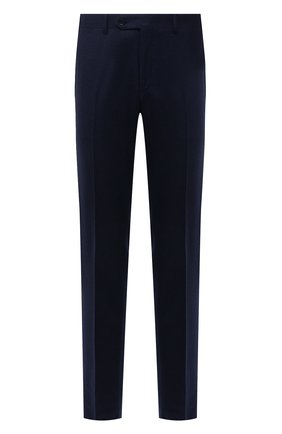Мужские шерстяные брюки CANALI темно-синего цвета, арт. 71019/BF01268 | Фото 1