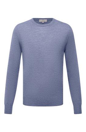 Мужской шерстяной джемпер CANALI голубого цвета, арт. C0012/MK00077 | Фото 1