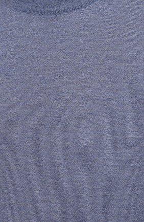 Мужской шерстяной джемпер CANALI голубого цвета, арт. C0012/MK00077   Фото 5