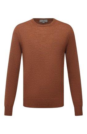 Мужской шерстяной джемпер CANALI коричневого цвета, арт. C0012/MK00077 | Фото 1