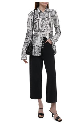 Женские джинсы BOSS темно-серого цвета, арт. 50453851   Фото 2