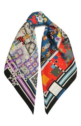 Женский шелковый платок pixel RADICAL CHIC разноцветного цвета, арт. 570072.07.02   Фото 1