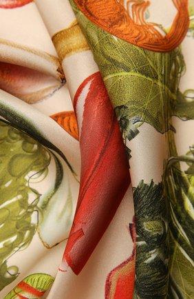 Женский шелковый платок lettuce RADICAL CHIC зеленого цвета, арт. 9468.09.02.ММ   Фото 2