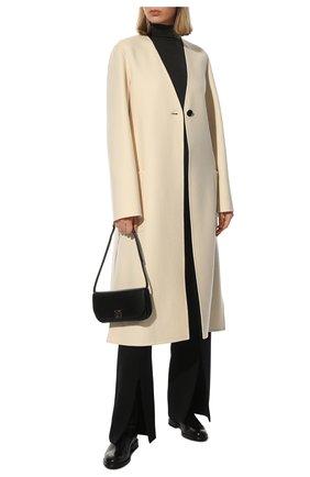 Женские кожаные сапоги BRUNELLO CUCINELLI черного цвета, арт. MZPRC2007P | Фото 2 (Подошва: Плоская; Материал внутренний: Натуральная кожа; Каблук высота: Низкий; Женское Кросс-КТ: Без шнуровки-ботинки; Каблук тип: Устойчивый)