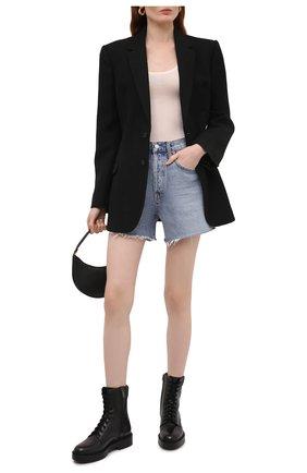 Женские кожаные ботинки SANTONI черного цвета, арт. WTHW59569SM0NU0RN01 | Фото 2