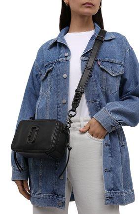 Женская сумка the softshot 21 MARC JACOBS (THE) черного цвета, арт. H118L01PF21   Фото 2