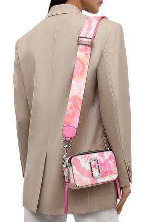 Женская сумка snapshot small MARC JACOBS (THE) розового цвета, арт. H122L01PF21   Фото 2