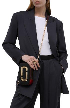 Женская сумка the hot shot small MARC JACOBS (THE) черного цвета, арт. M0016765   Фото 2