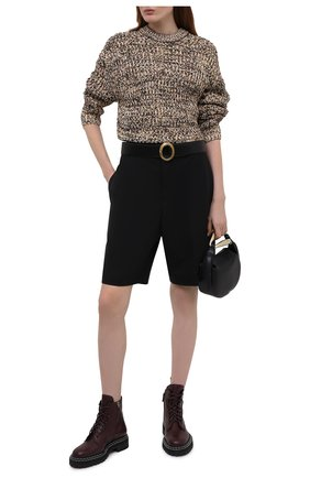 Женские кожаные ботинки PROENZA SCHOULER бордового цвета, арт. PS35113A/14040 | Фото 2