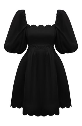Женское льняное платье ZIMMERMANN черного цвета, арт. 1961DMAE   Фото 1