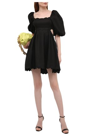 Женское льняное платье ZIMMERMANN черного цвета, арт. 1961DMAE   Фото 2