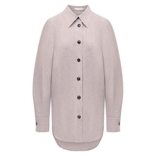 Рубашка из хлопка и льна Low Classic