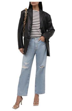 Женские джинсы AG голубого цвета, арт. HRD1A98/23YCUL/MX | Фото 2