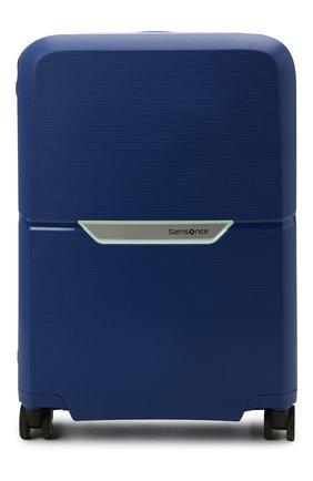 Женский дорожный чемодан magnum SAMSONITE синего цвета, арт. CK6-31001 | Фото 1