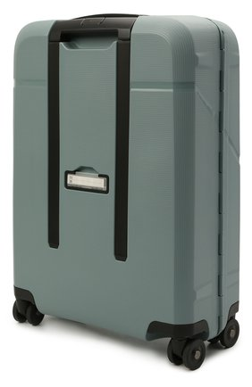 Женский дорожный чемодан magnum eco SAMSONITE зеленого цвета, арт. KH2-11001 | Фото 2