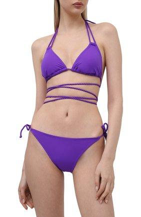 Женский плавки-бикини NATAYAKIM фиолетового цвета, арт. NY-010B/21L | Фото 2
