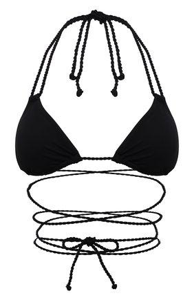 Женский треугольный бра NATAYAKIM черного цвета, арт. NY-010T/21L | Фото 1