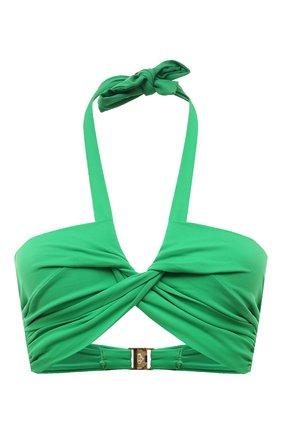 Женский бра c драпировкой NATAYAKIM зеленого цвета, арт. NY-063T/19 | Фото 1