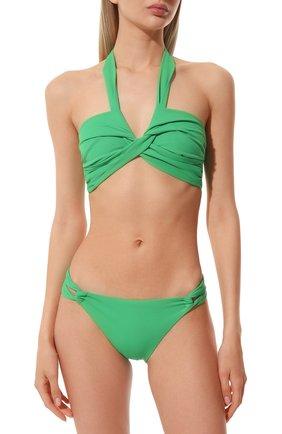Женский бра c драпировкой NATAYAKIM зеленого цвета, арт. NY-063T/19 | Фото 2