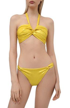 Женский бра c драпировкой NATAYAKIM желтого цвета, арт. NY-063T/19 | Фото 2
