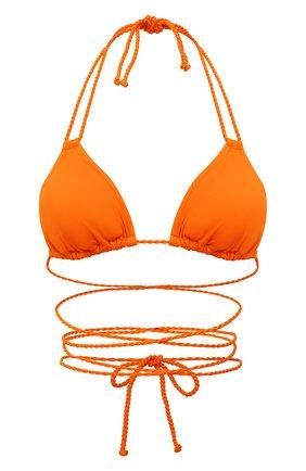 Женский треугольный бра NATAYAKIM оранжевого цвета, арт. NY-010T/21L | Фото 1